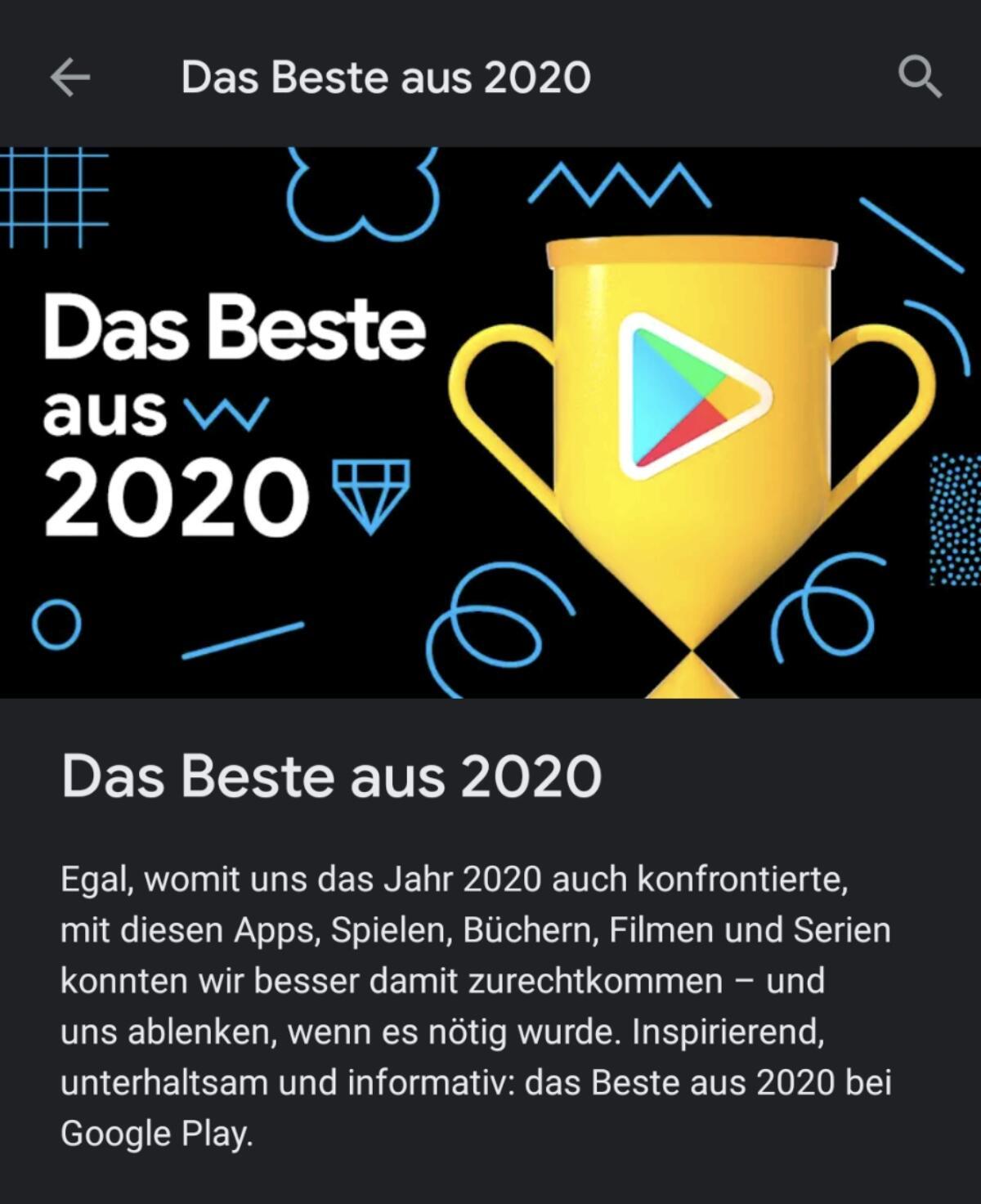 Google Play Store Beste 2020