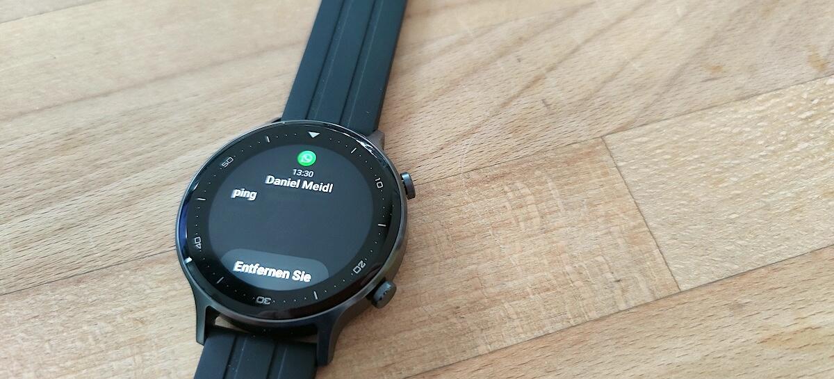 Realme Watch S Whatsapp