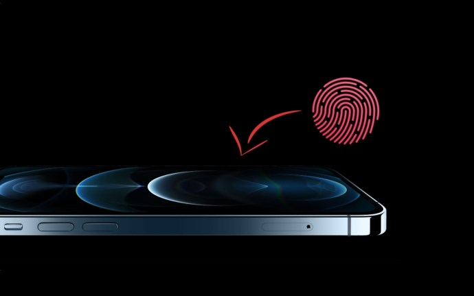 Apple Iphone Touch Id Header