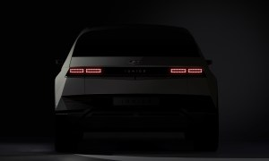Hyundai Ioniq 5 Teaser Back