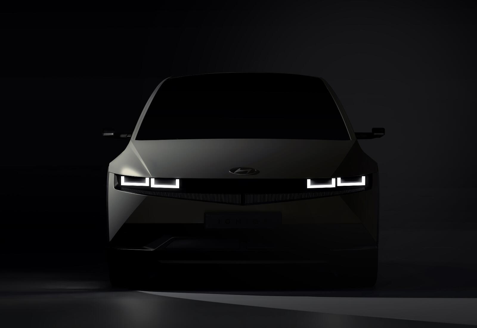 Hyundai Ioniq 5 Teaser Front