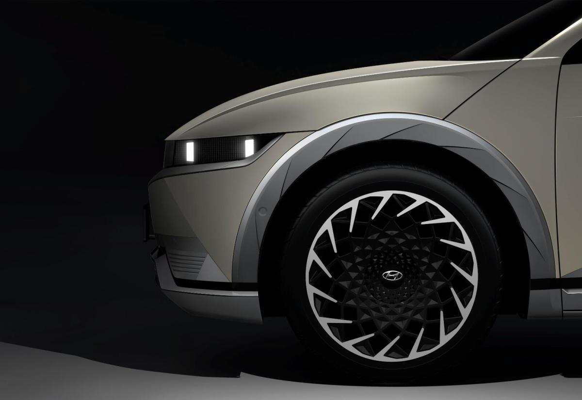 Hyundai Ioniq 5 Teaser Seite