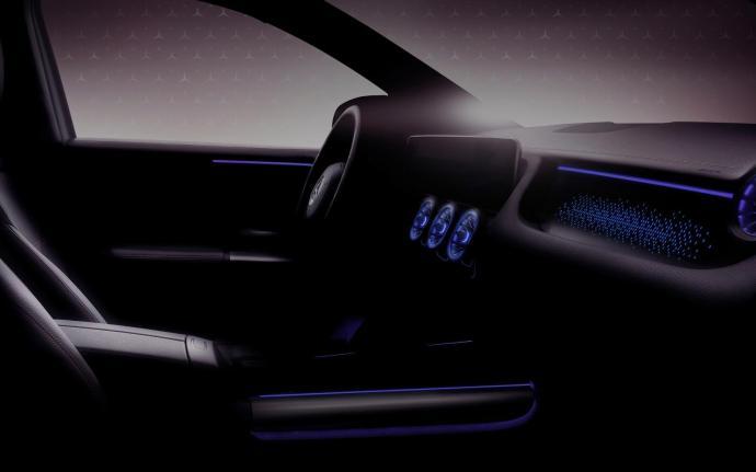 Mercedes Benz Eqa Innenraum Teaser