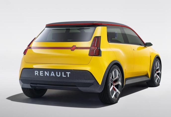 Renault 5 Prototyp Back