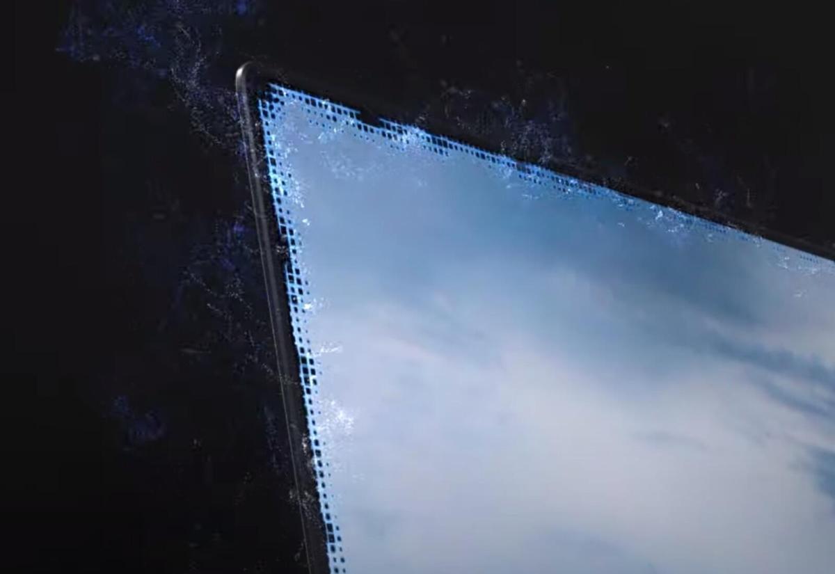 Samsung Blade Bezel Header