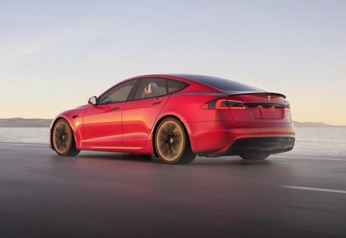 Tesla Model S 2021 Back