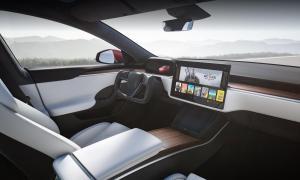 Tesla Model S 2021 Interior