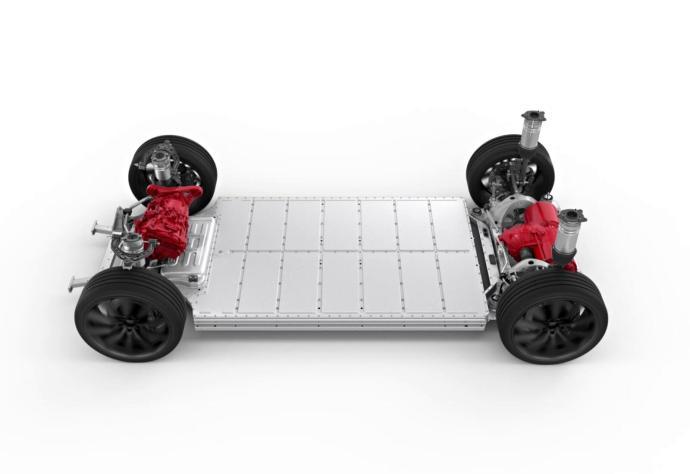 Tesla Model S Plattform