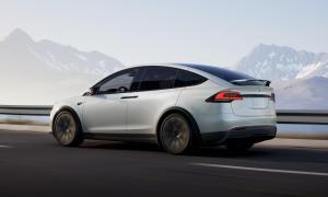 Tesla Model X 2021 Back