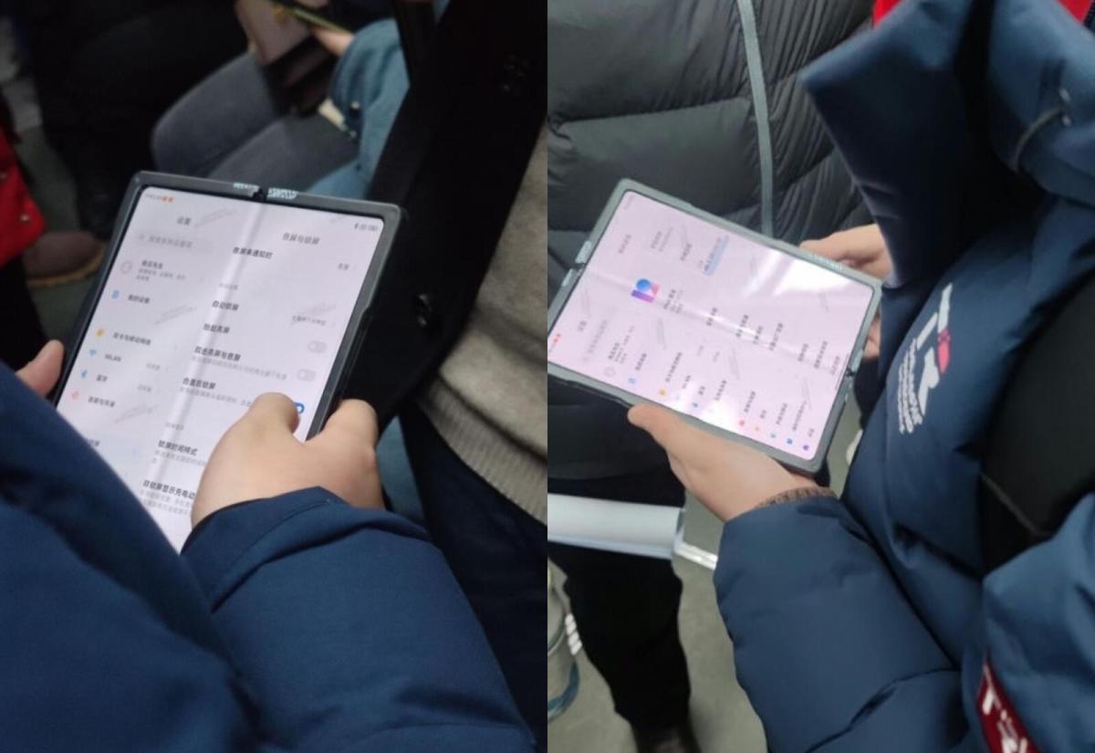 Xiaomi Mi Fold Leak