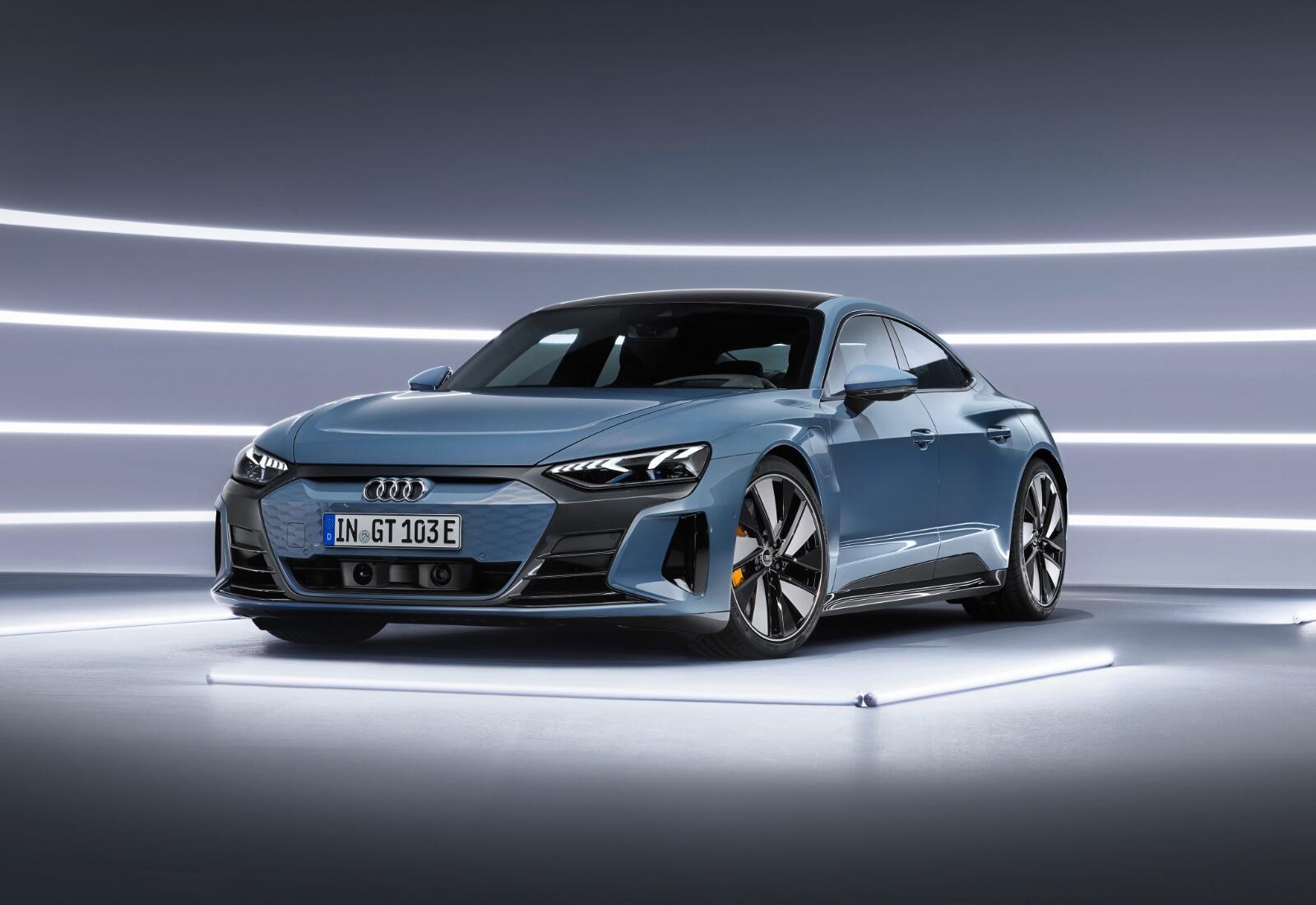 Audi Etron Gt Front