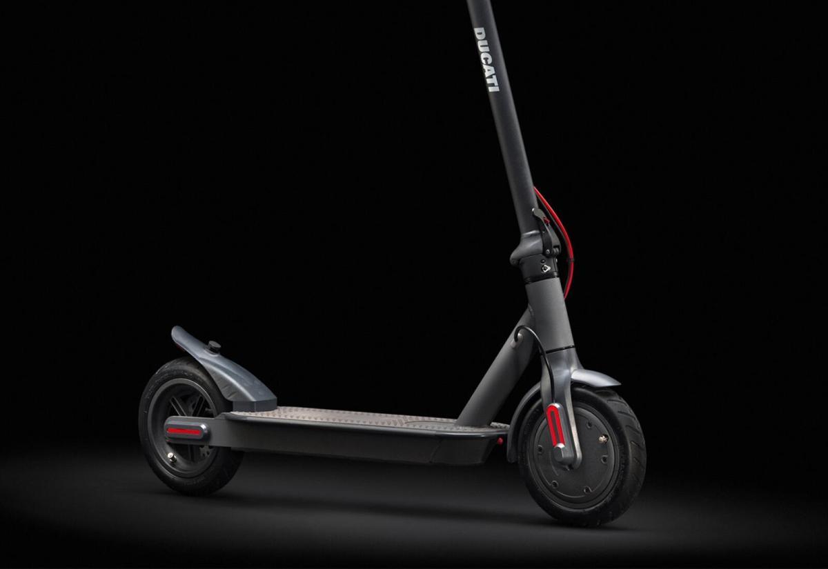 Ducati Pro I Evo Scooter Header