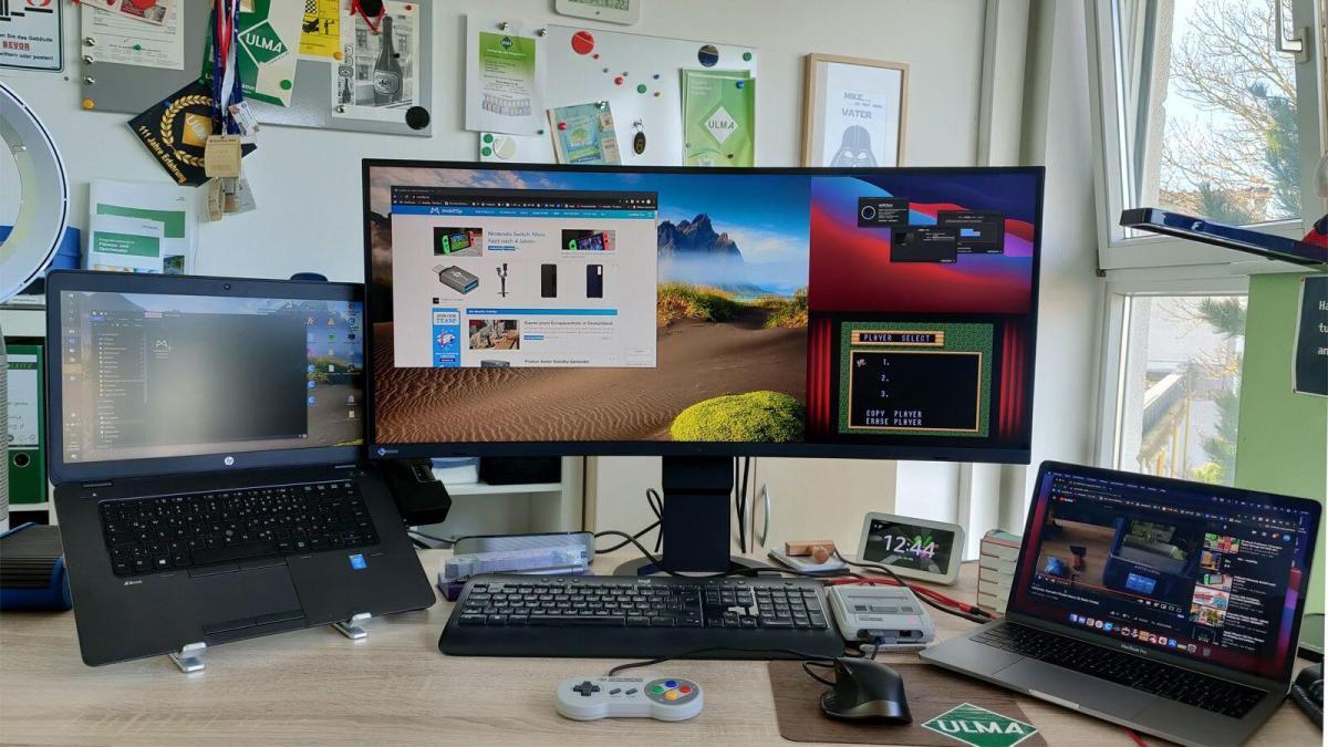Eizo Flexscan Ev3895 Curved Screen