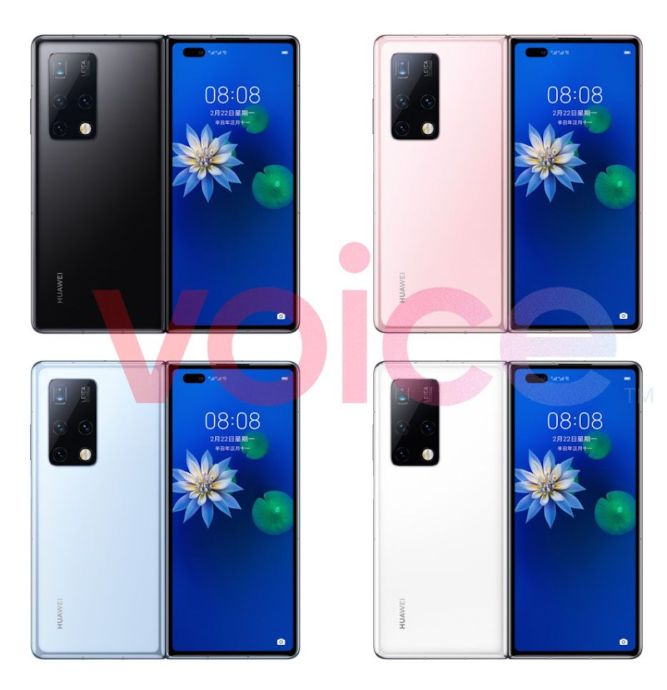 Huawei Mate X2 Leak Farben