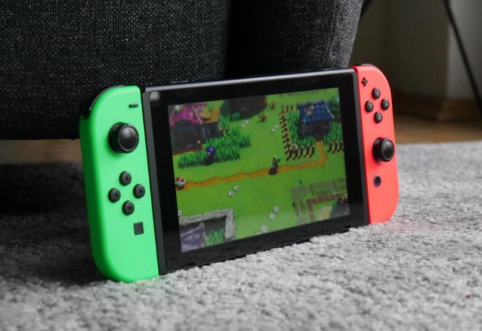 Nintendo Switch 2d Zelda Header