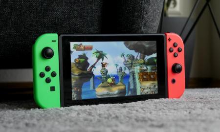 Nintendo Switch Donkey Kong Header