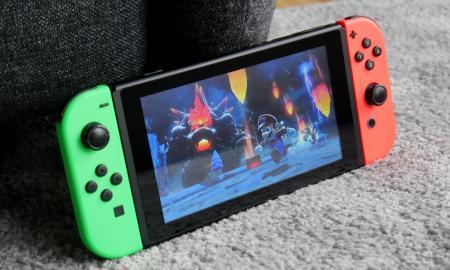 Nintendo Switch Mario Bowser Fury