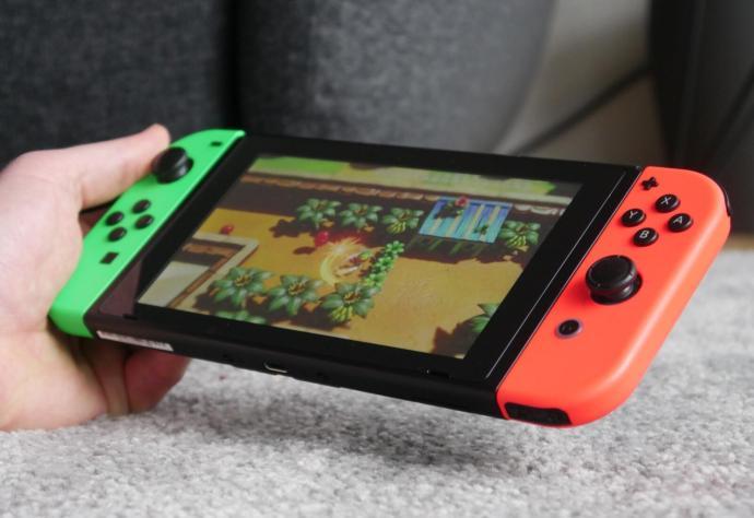 Nintendo Switch Zelda Hand