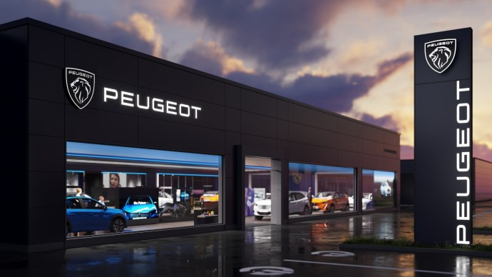 Peugeot Neu Logo Haendler