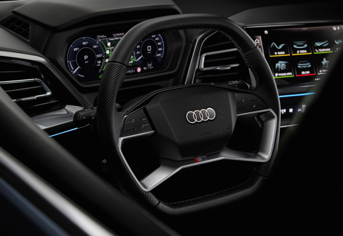 Audi Q4 Etron Lenkrad Header