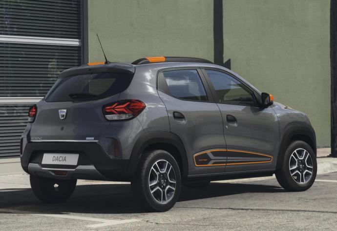 Dacia Spring Electric Back