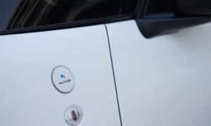 Fiat 500 Hey Google Button