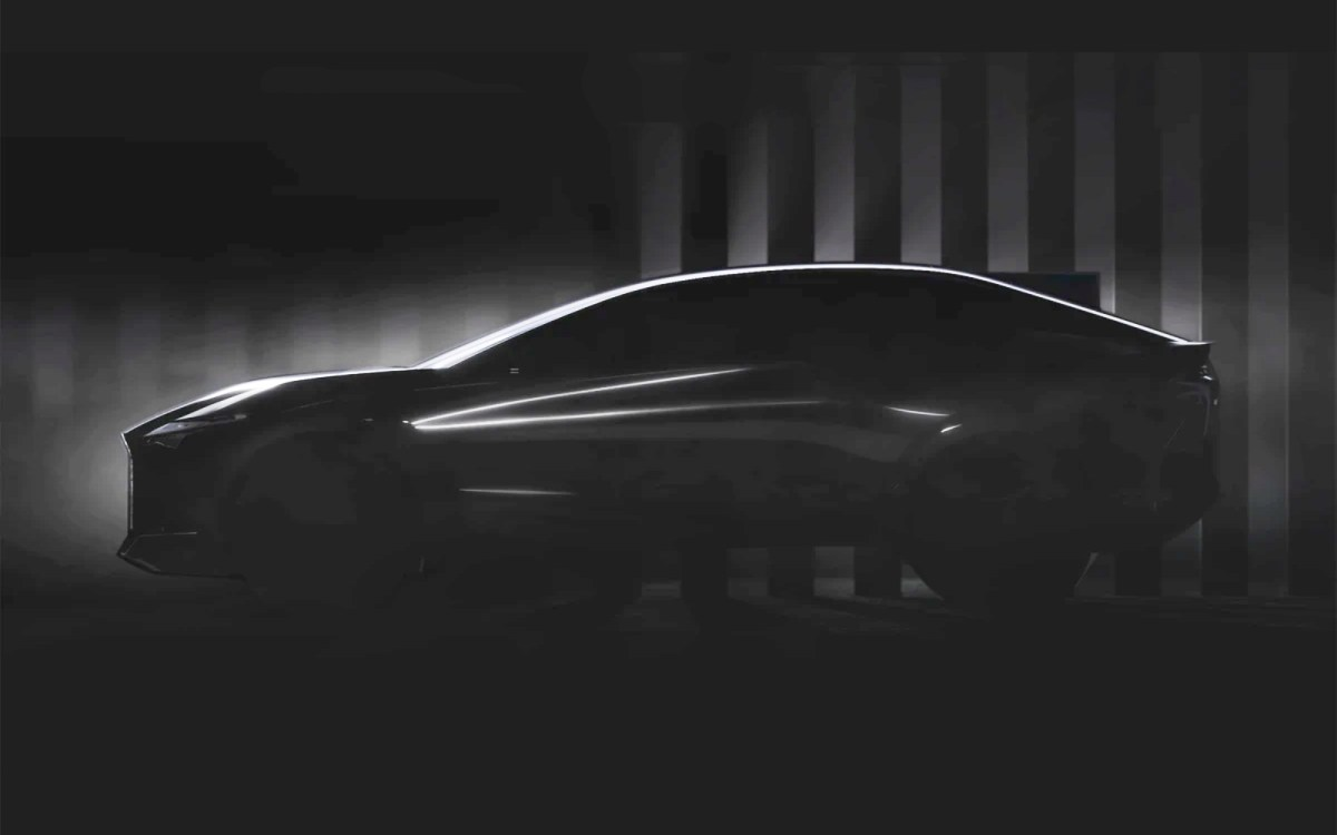 Lexus Elektro Konzept Teaser Hell