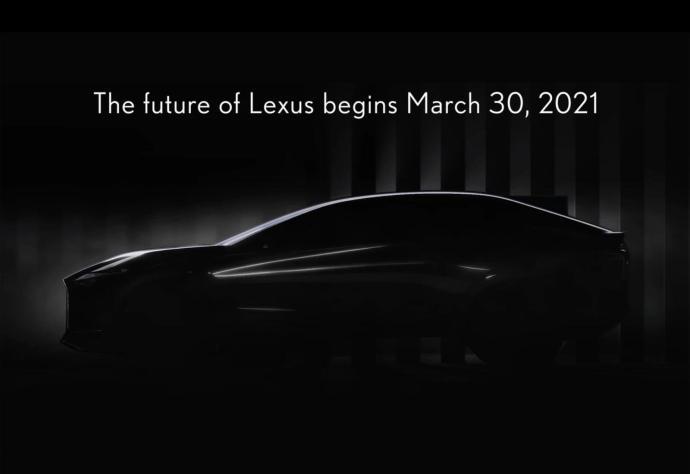 Lexus Elektro Konzept Teaser