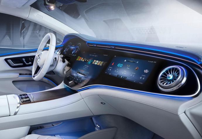 Mercedes Benz Eqs Innenraum Header