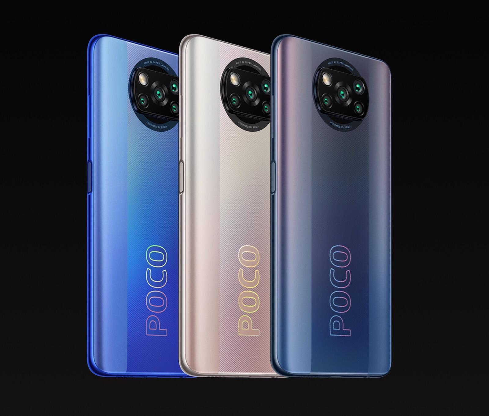 Poco X3 Pro Farben