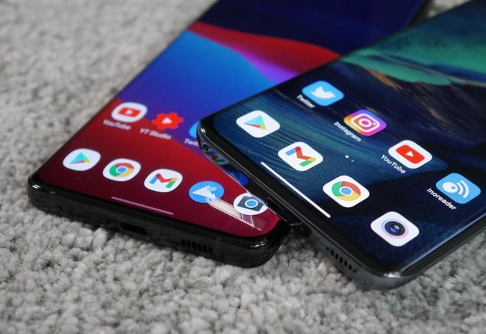 Samsung Galaxy S21 Ultra Xiaomi Mi 11 Android