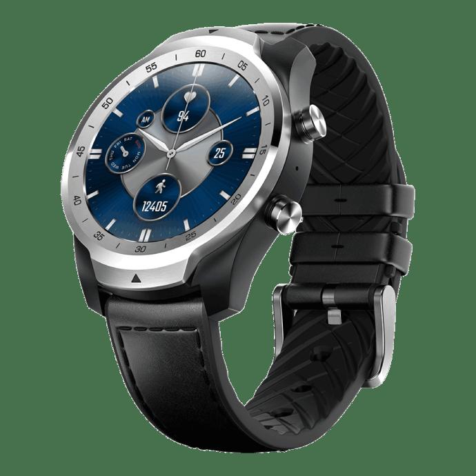 Ticwatch Pro S Silber