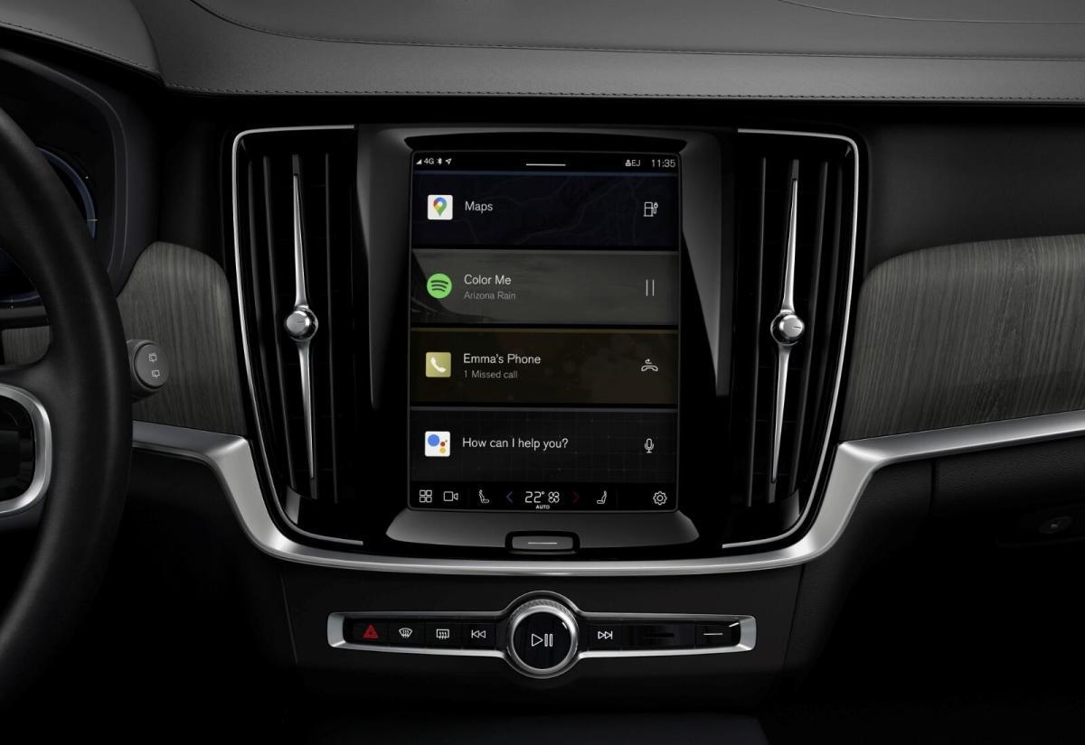 Volvo Android Automotive Header