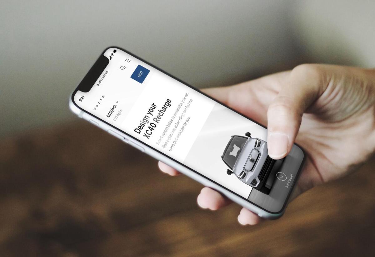 Volvo App Header