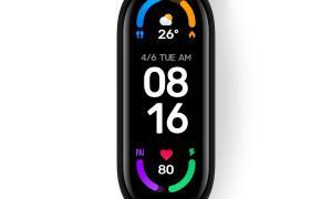 Xiaomi Mi Band 6 Display