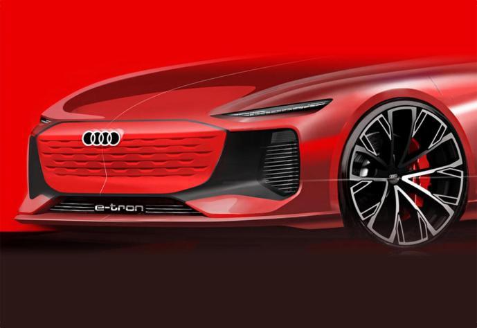 Audi A6 Etron Konzept Preview