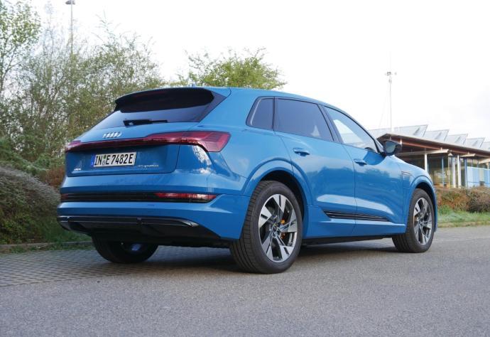 Audi Etron 2021 Heck