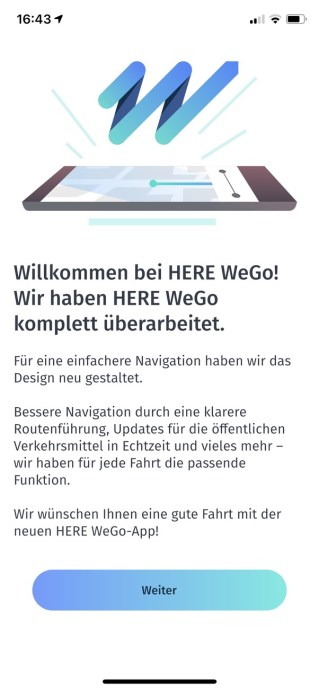 Here Wego Screen Design