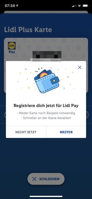 Lidl Pay 1