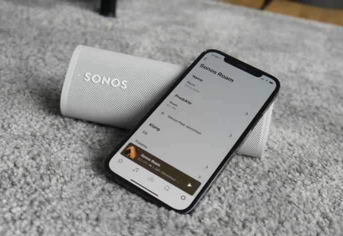 Sonos Roam App