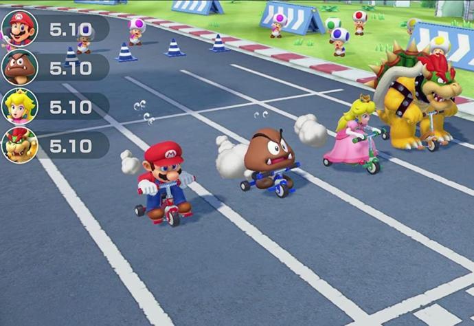 Super Mario Party Screen