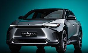 Toyota Bz4x Front