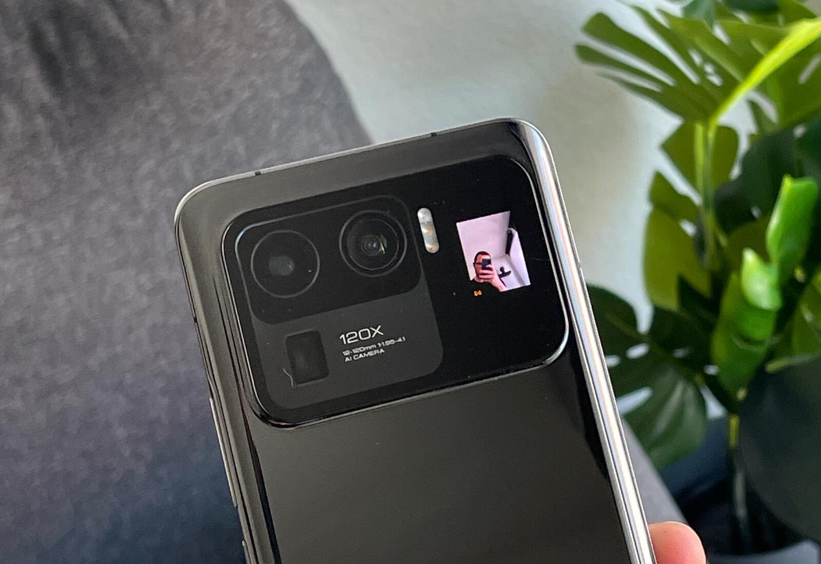 Xiaomi Mi 11 Ultra Kamera Display