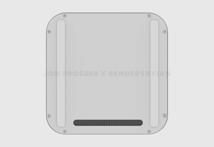 Apple Mac Mini 2021 Leak Bottom