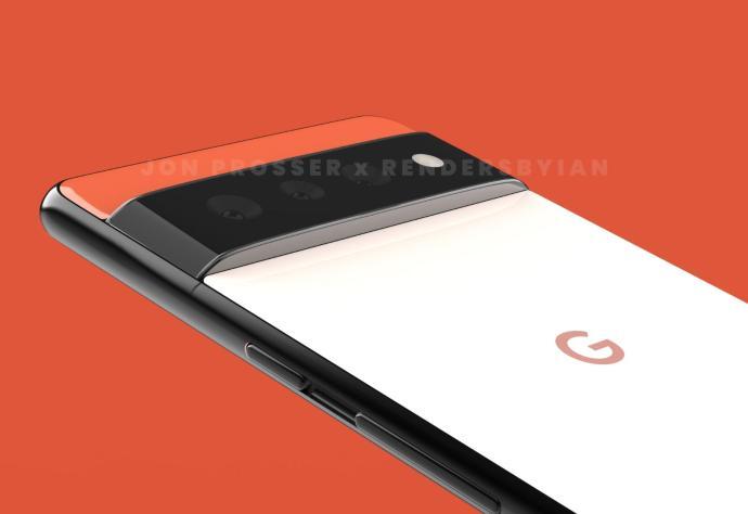 Google Pixel 6 Render Header