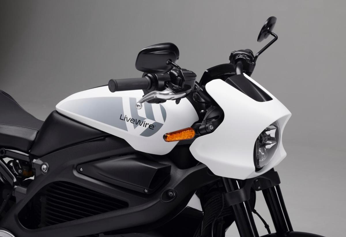 Harley Davidson Livewire Header