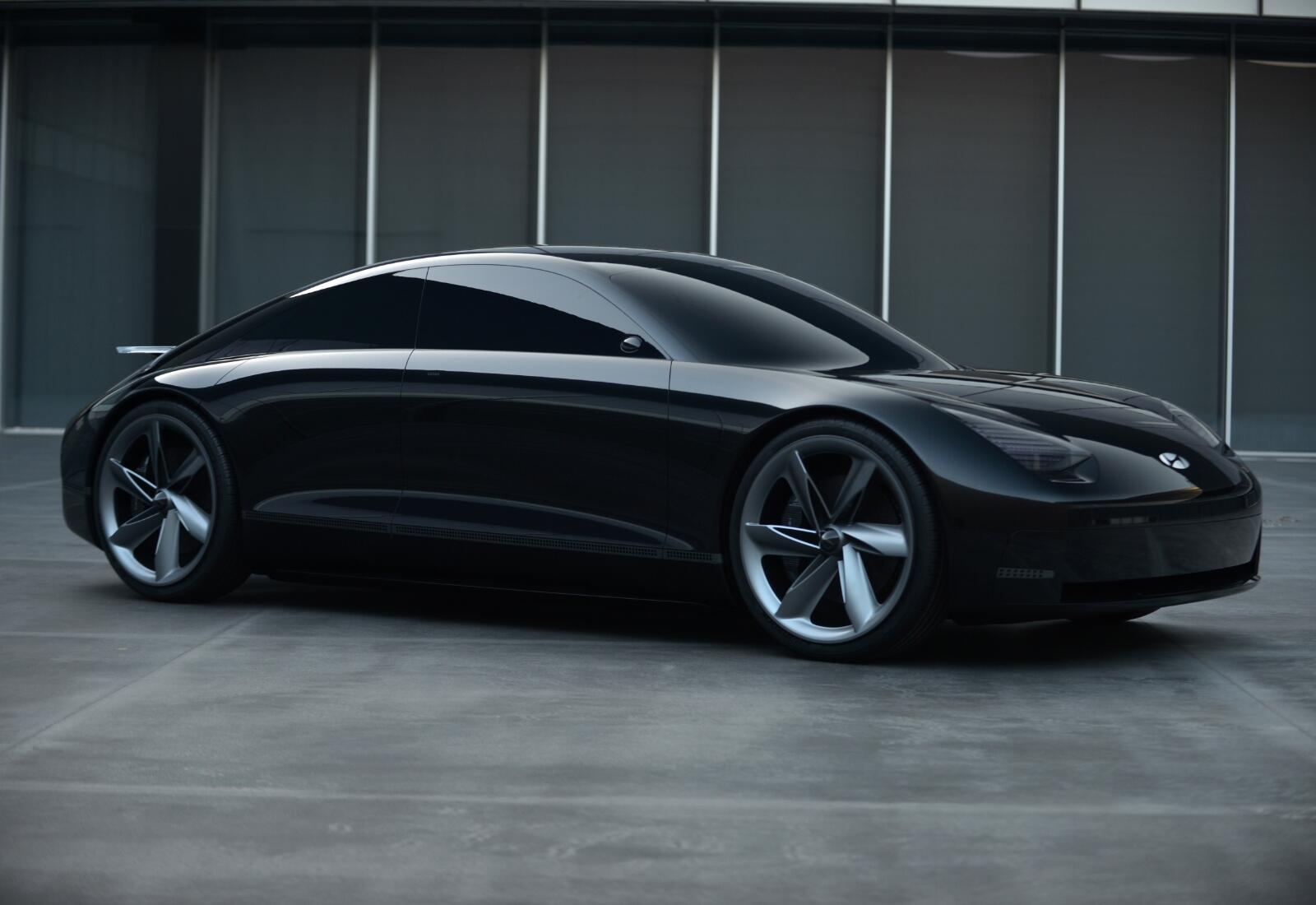 Hyundai Ioniq 6 Konzept Front