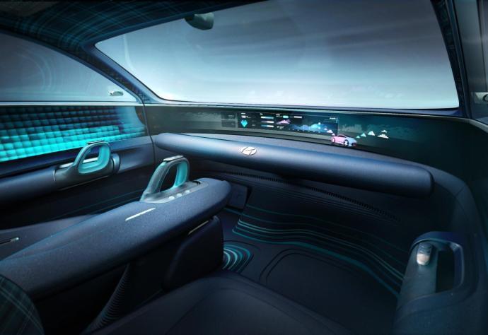 Hyundai Ioniq 6 Konzept Interior