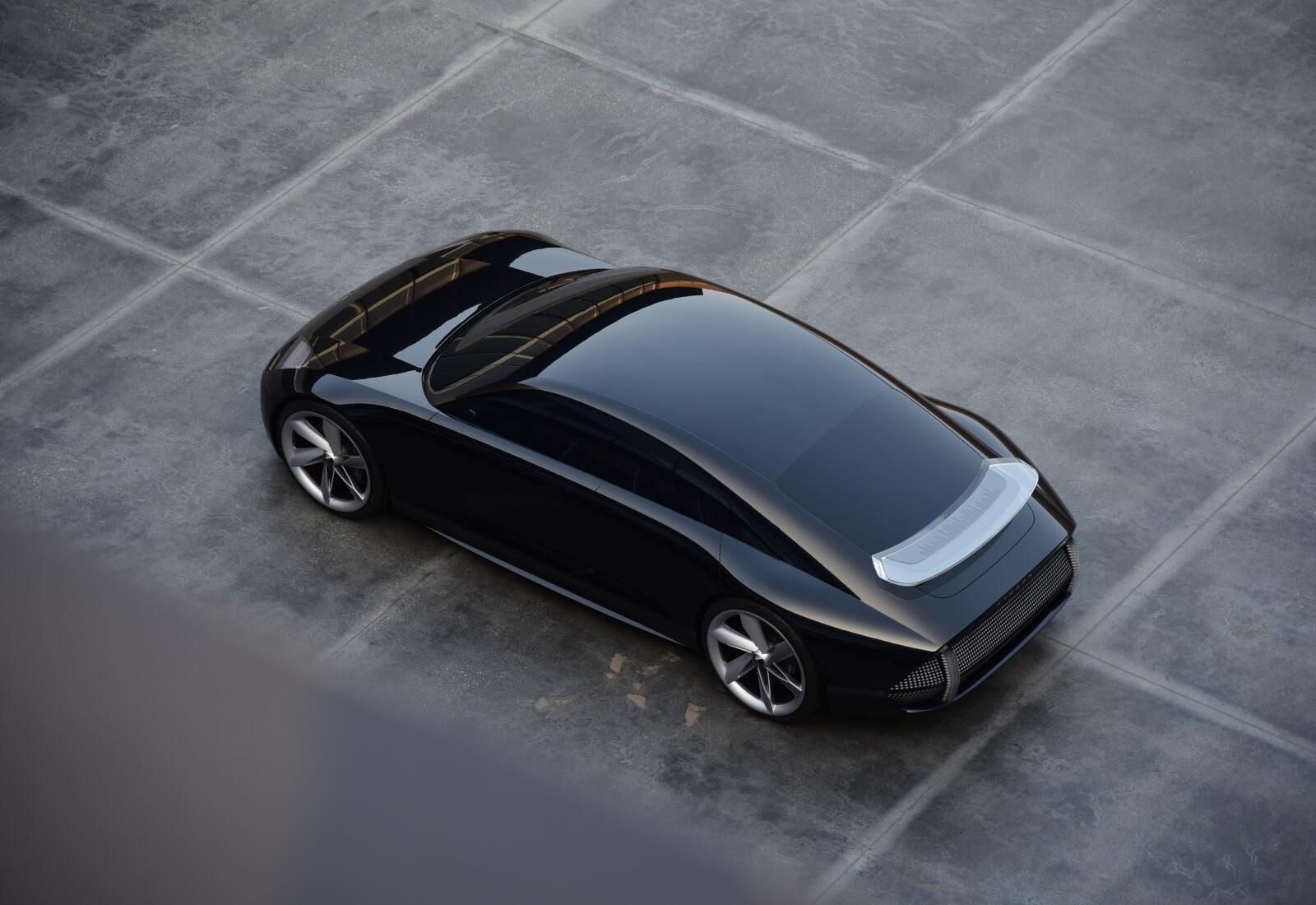 Hyundai Ioniq 6 Konzept Top