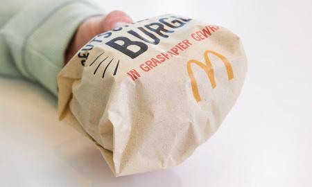 Mcdonalds Verpackung Graspapier